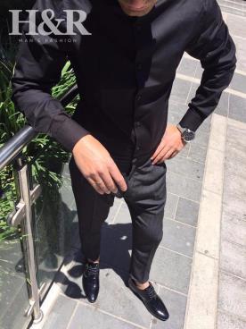 בגד לחתן בצבע שחור ואפור