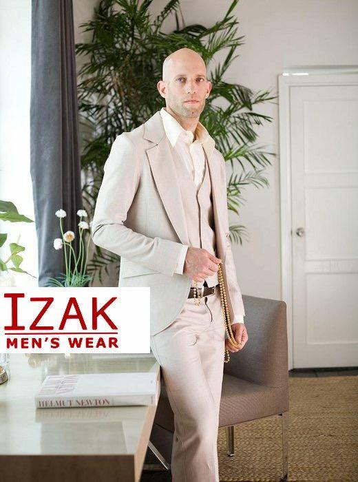 חליפה בהירה מהודרת