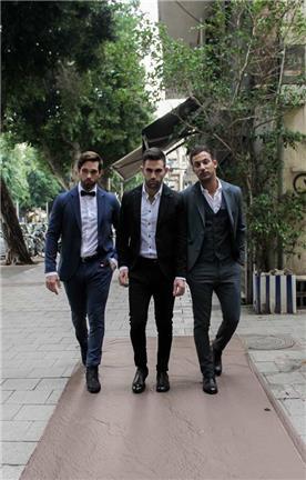 חליפת חתן: חולצה, חליפה בצבע כחול רויאל, וסט, חליפת שלושה חלקים, מכנסיים, בלייזר, חליפה בדוגמה חלקה, חליפה בצבע לבן, חליפה בצבע שחור, חליפה בצבע אפור - IZAK MEN'S WEAR-איזק חליפות חתן