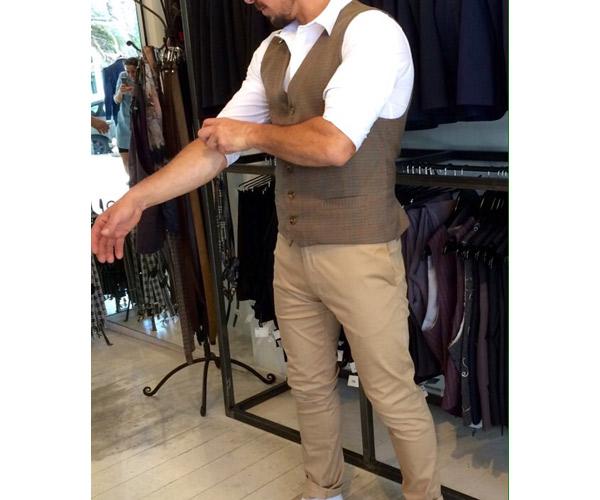 חנות לבגדי גברים בתל אביב