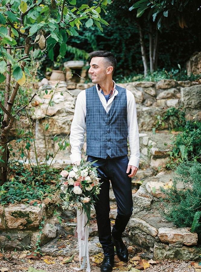 חליפת חתן: חולצה, וסט, חליפת שלושה חלקים, מכנסיים, חליפה בדוגמה משובצת, חליפה בדוגמה חלקה, חליפה בצבע לבן, חליפה בצבע שחור, חליפה בצבע אפור - איזק -Izak Men's Wear