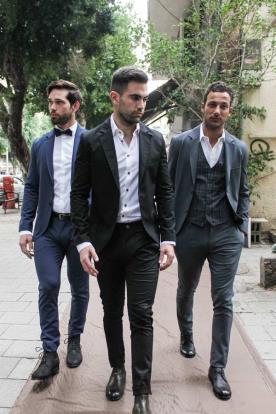 חליפות מחויטות לחתנים