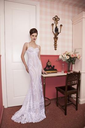 שמלת כלה צורות גאומטריות