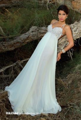 שמלת כלה עם חרוזים ושיפון