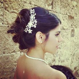 שיער בעיצוב אסוף רומנטי