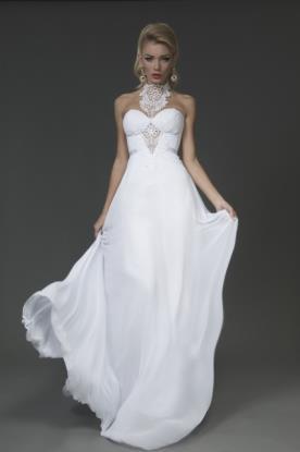 שמלת כלה למראה מרשים רומנטי