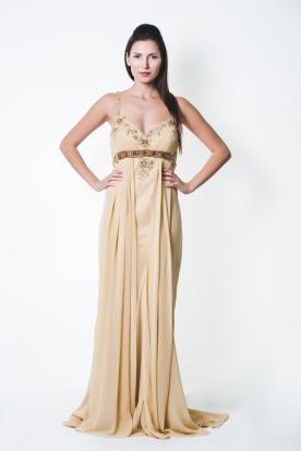 שמלת ערב בסגנון יווני