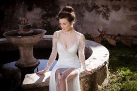 שמלת כלה בסגנון מעטפת