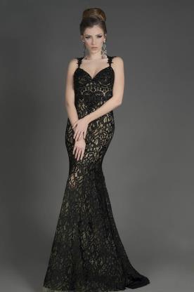 שמלת ערב קלאסית מתחרה