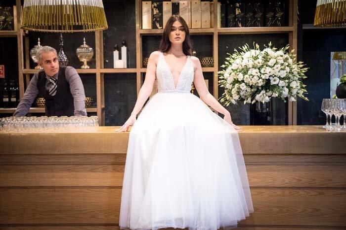 שמלות ערב בגזרה אסימטרית