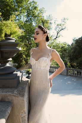 שמלת כלה מודרנית עם טאץ וינטאג