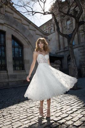 שמלת כלה באורך מידי
