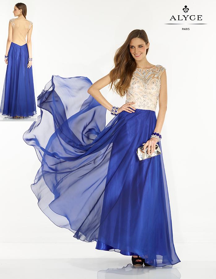 שמלת כלה חצאית כחולה