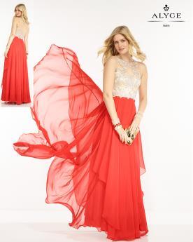 שמלת ערב שכבות שיפון