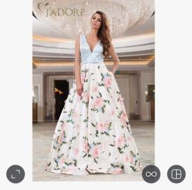 שמלת ערב רומנטית