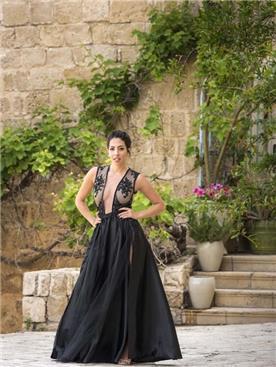 שמלות ערב בגזרה נשפכת