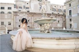 עזיזי שמלות כלה Sicily Photoshoot Palermo 2017