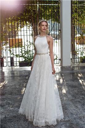 שמלת כלה אלגנטית יוקרתית