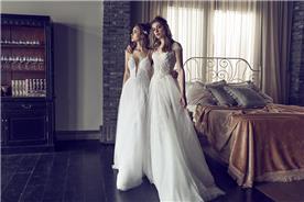 שתי שמלות כלה בשילוב תחרה