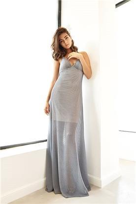 שמלת ערב פשוטה