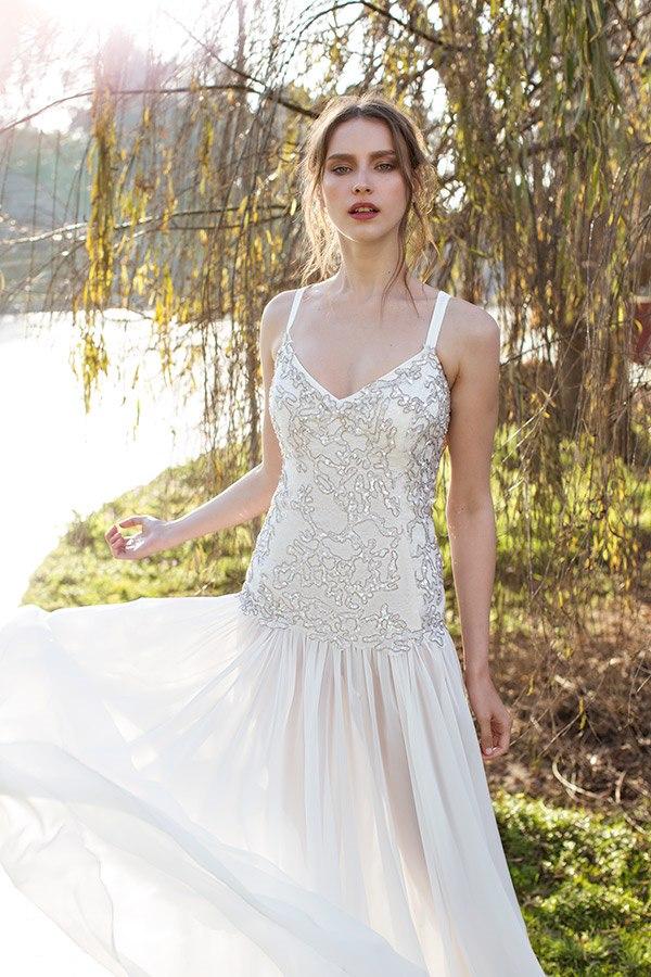 שמלת כלה משולבת מעניינת