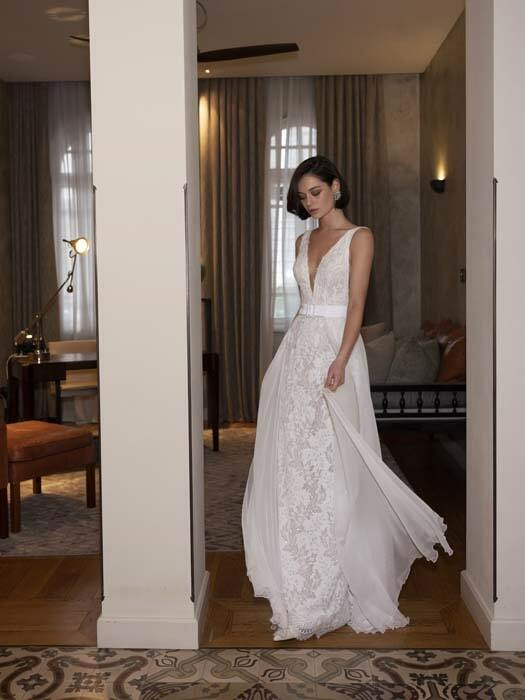 שמלות כלה מבדים טבעיים