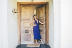 שמלת ערב מידי סגולה