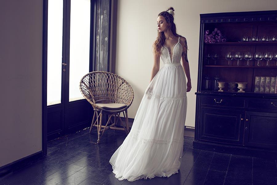 שמלת כלה בסיגנון עדין