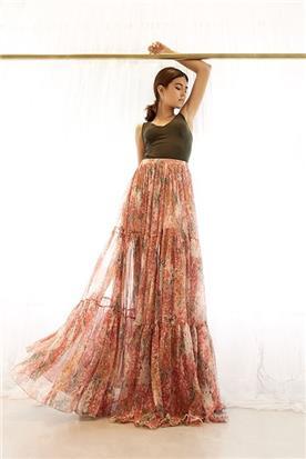 שמלה פרחונית וינטג'