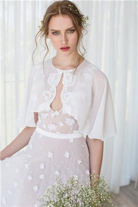 שמלה עדינה עם עליונית