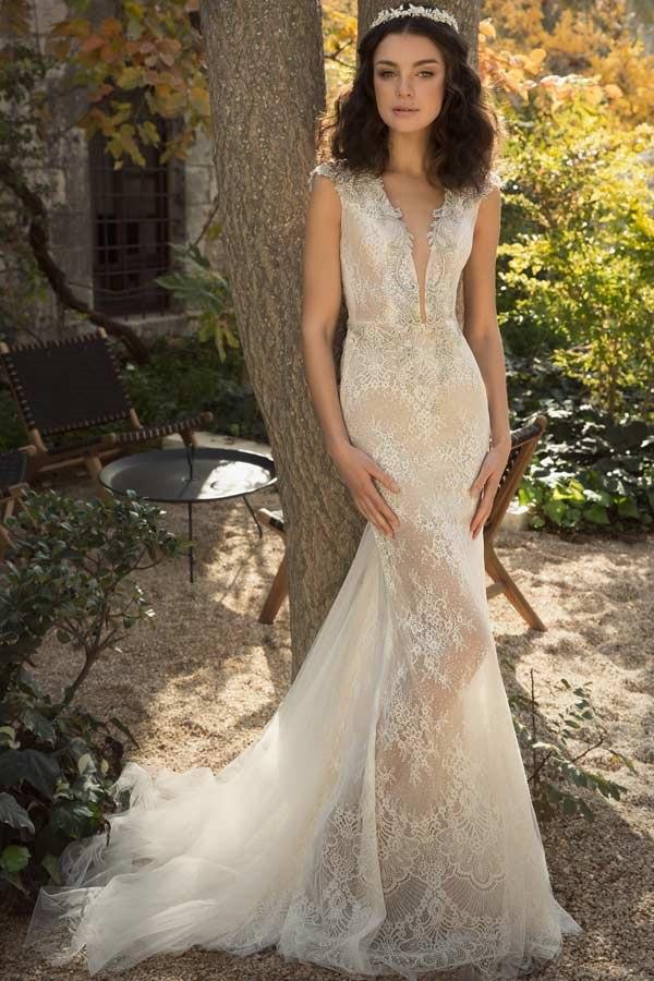 שמלת כלה במראה נסיכותי