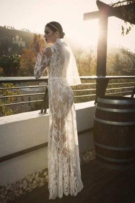 שמלת כלה עם הינומה