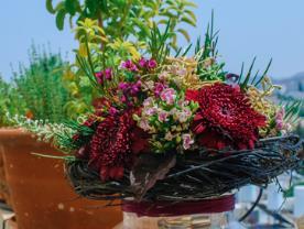 עיצוב אירוע - סימפוניית הפרחים