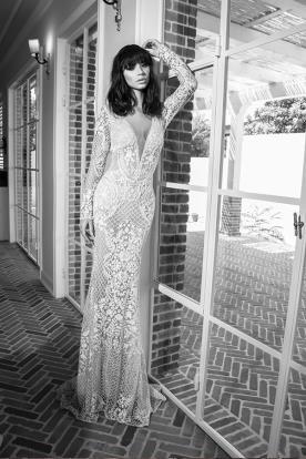 שמלת כלה חורפית זוהרת