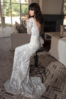 שמלת כלה חורפית עשירה