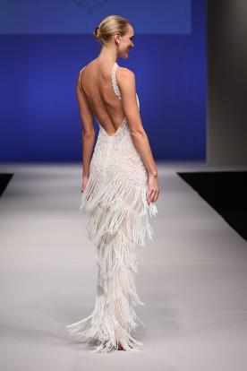 שמלת כלה עם חצאים פרנזים
