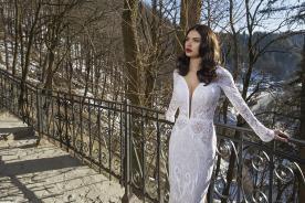 שמלת כלה מתחרה לחורף