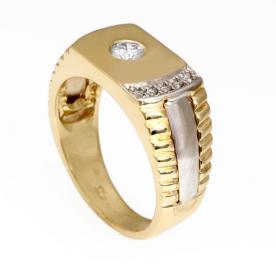 טבעת חותם בעיצוב מיוחד לגבר