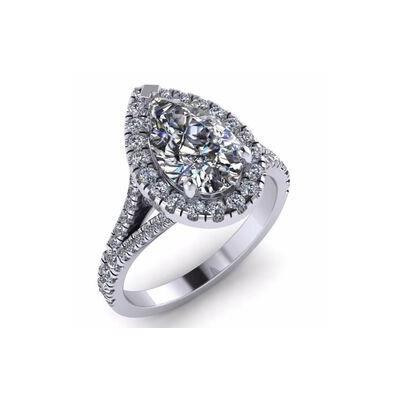 טבעת נישואין: תכשיט לאישה, תכשיט עם יהלומים, תכשיט כסף, יהלומים - תכשיטי סימיון מאייב