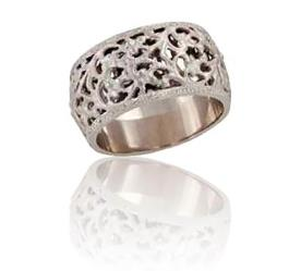 טבעת נישואין מחוררת