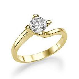 טבעת אירוסין מפותלת