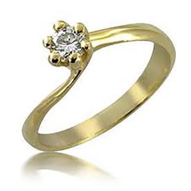 טבעת אירוסין אסימטרית