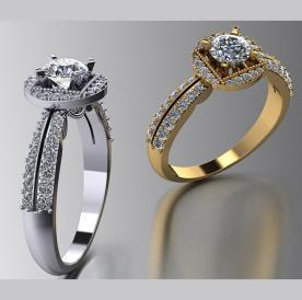 טבעות אירוסין בעיצוב מיוחד