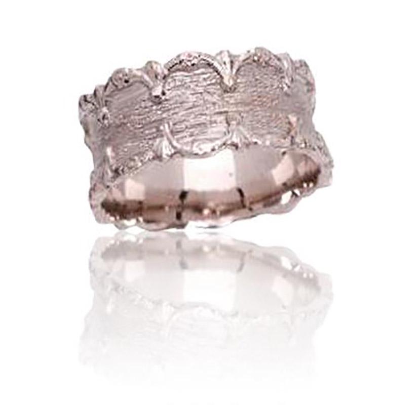טבעת נישואין עם דוגמא