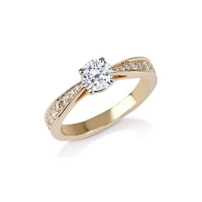 טבעת אירוסין מעוצבת - סימיון מאייב