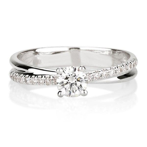 טבעת זהב לבן - סימיון מאייב
