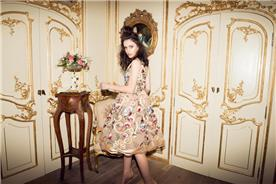 שמלת ערב פרחונית