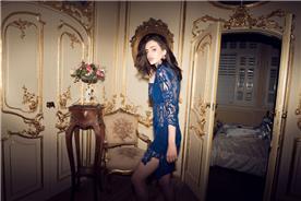 שמלת ערב בעיצוב של חני ציבליק