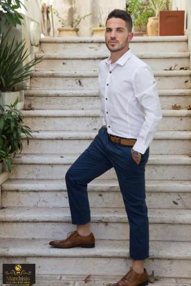 חליפת חתן אלגטית בסגנון אורבני