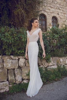 שמלת כלה עדינה רומנטית